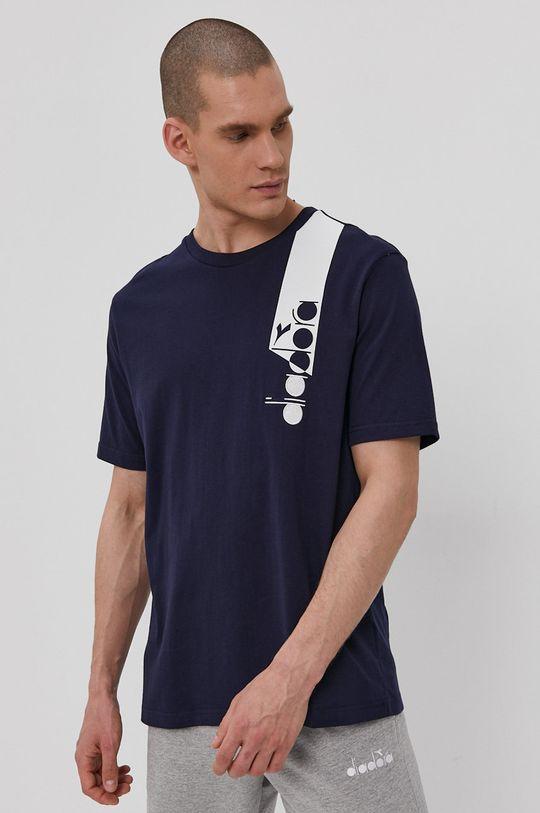 Diadora - T-shirt granatowy