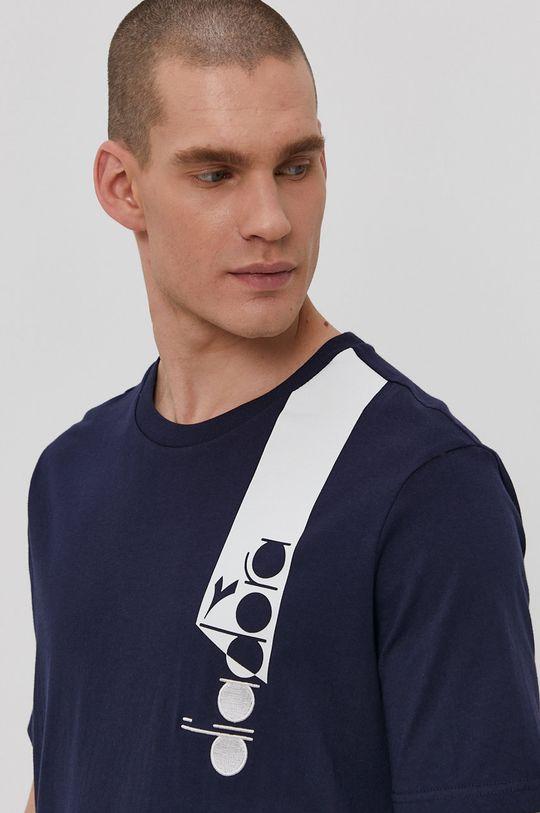 granatowy Diadora - T-shirt