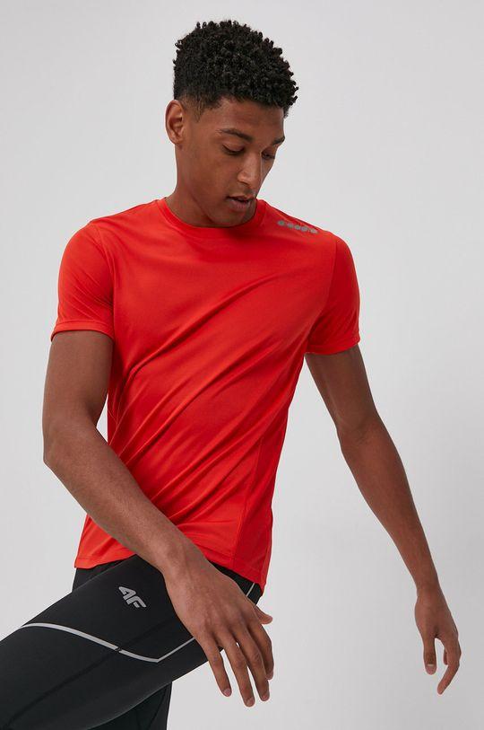 ostry czerwony Diadora - T-shirt Męski
