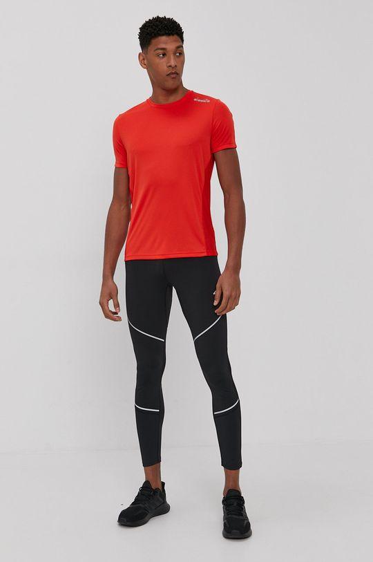 Diadora - T-shirt ostry czerwony