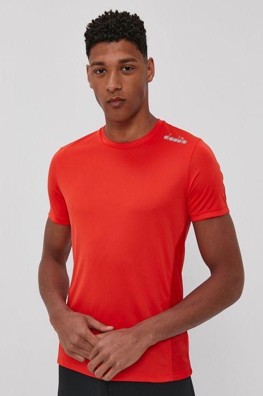 ostry czerwony Diadora - T-shirt