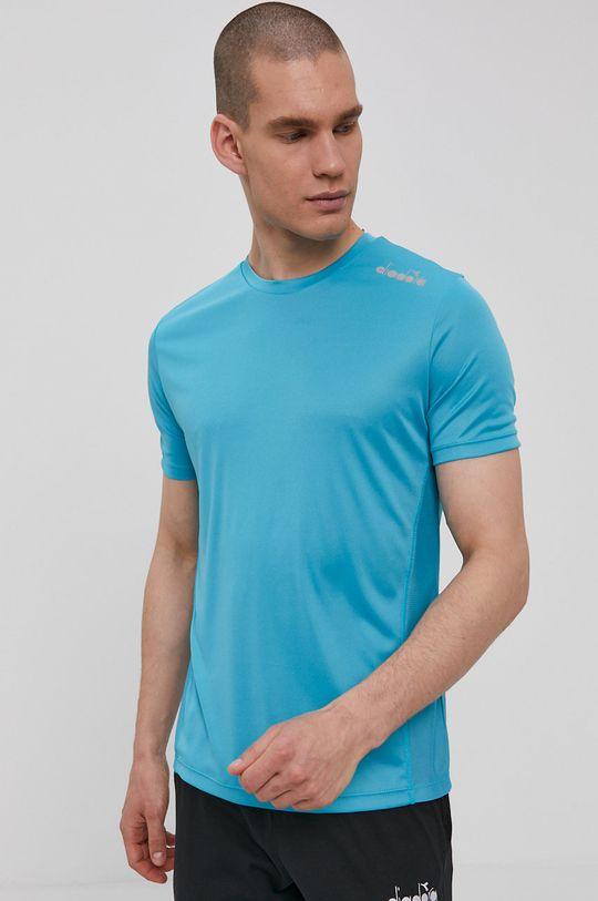 modrá Diadora - Tričko Pánský