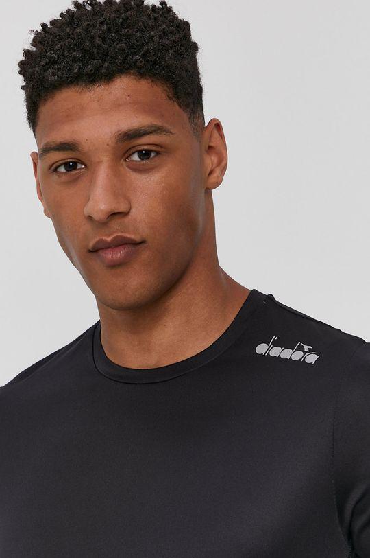 czarny Diadora - T-shirt