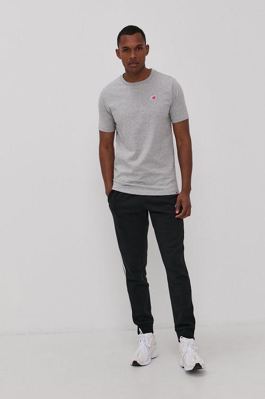 New Balance - T-shirt szary