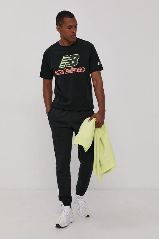 New Balance - T-shirt czarny
