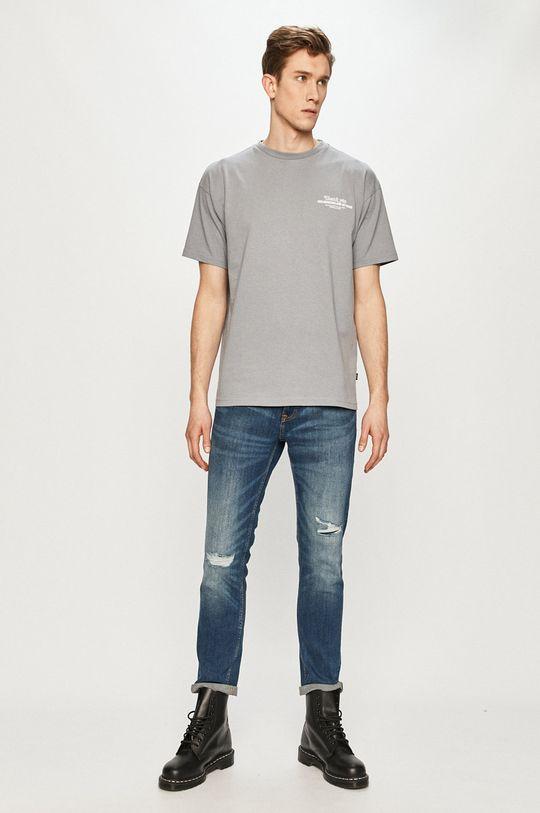 Dr. Denim - T-shirt szary