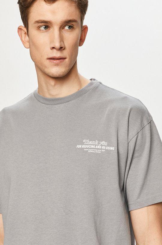 szary Dr. Denim - T-shirt