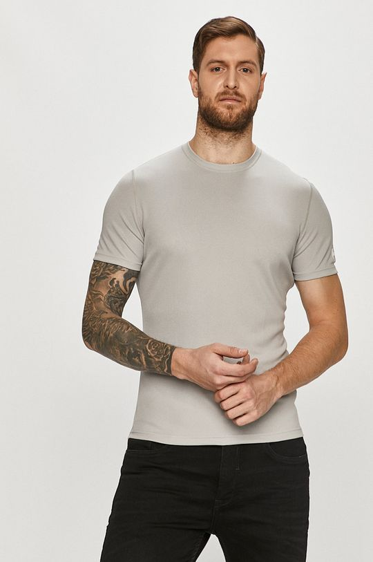 jasny szary Helly Hansen - T-shirt Męski