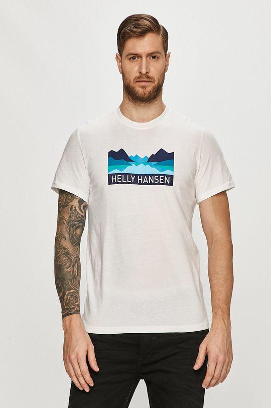 biały Helly Hansen - T-shirt Męski
