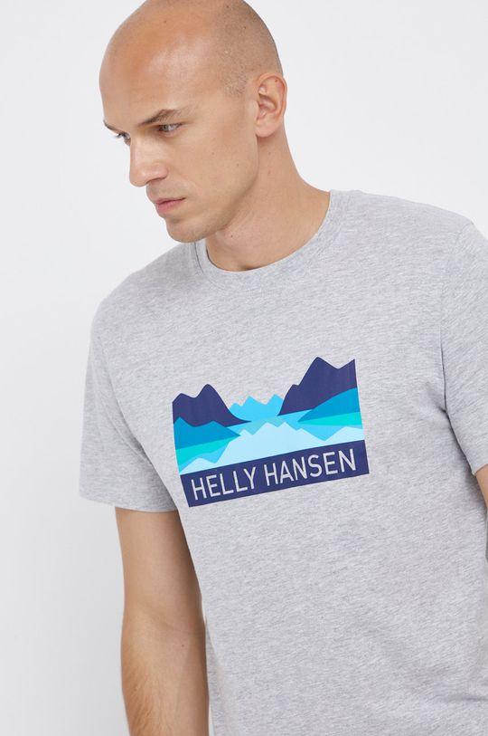 jasny szary Helly Hansen - T-shirt