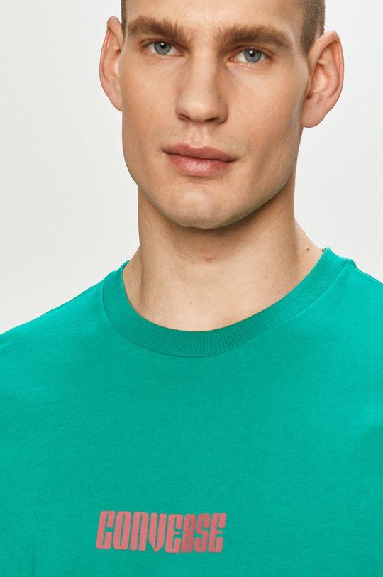 zielony Converse - T-shirt