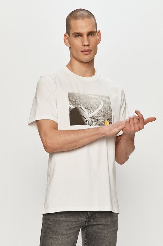 biały Converse - T-shirt Męski