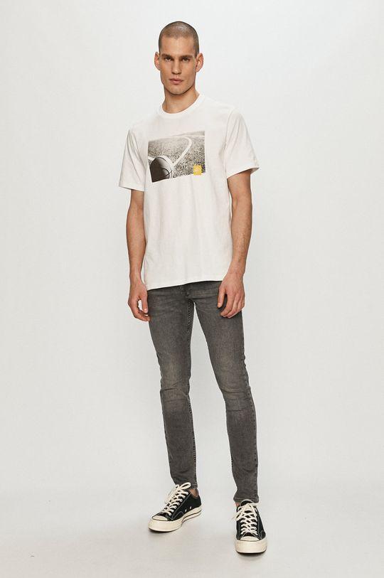 Converse - T-shirt biały