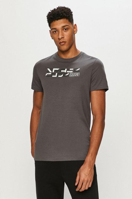 grafitowy 4F - T-shirt