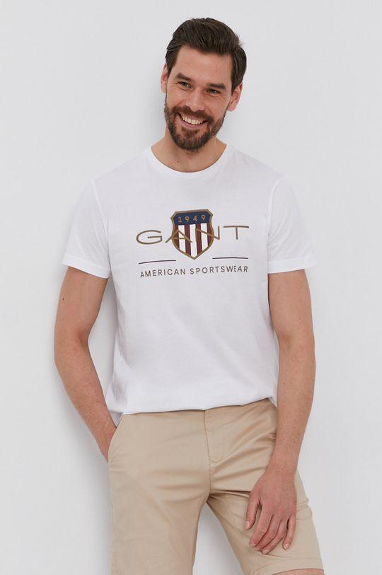 fehér Gant - T-shirt Férfi