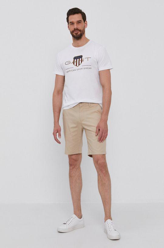 Gant - T-shirt fehér
