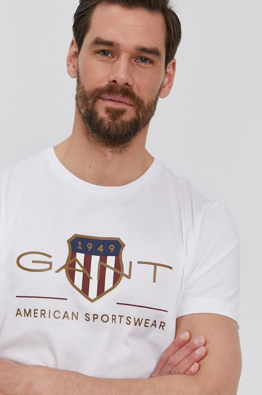 fehér Gant - T-shirt