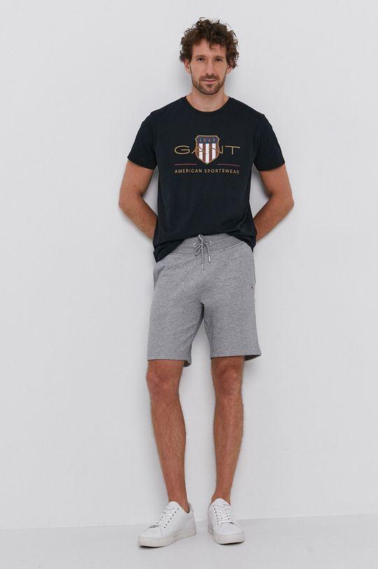 Gant - T-shirt fekete