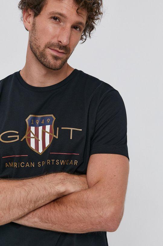 fekete Gant - T-shirt