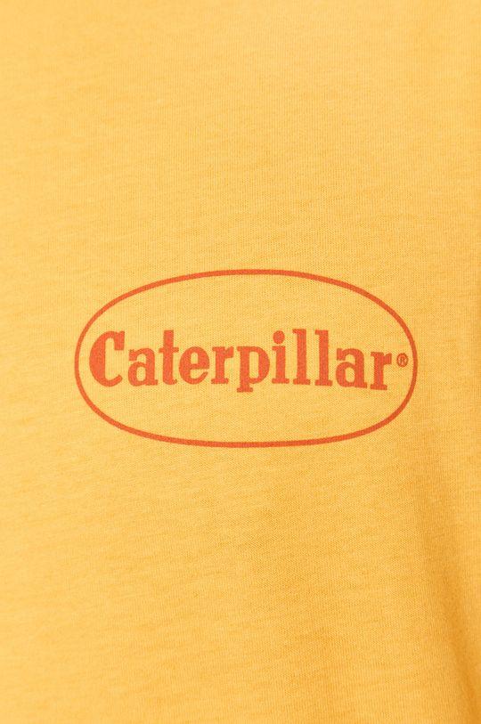 žlutá Caterpillar - Tričko