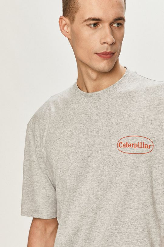 šedá Caterpillar - Tričko