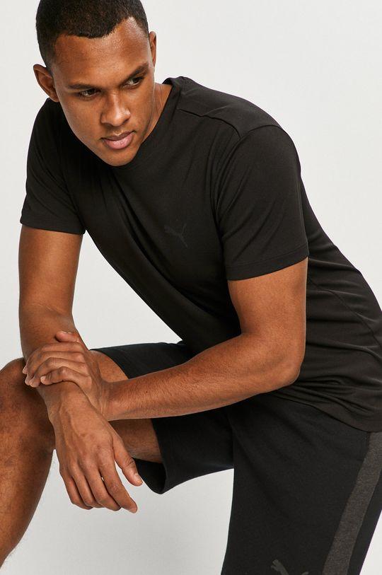 negru Puma - Tricou De bărbați