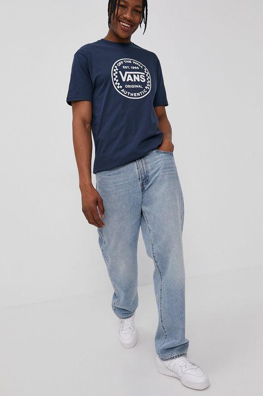 Vans - Tricou bleumarin
