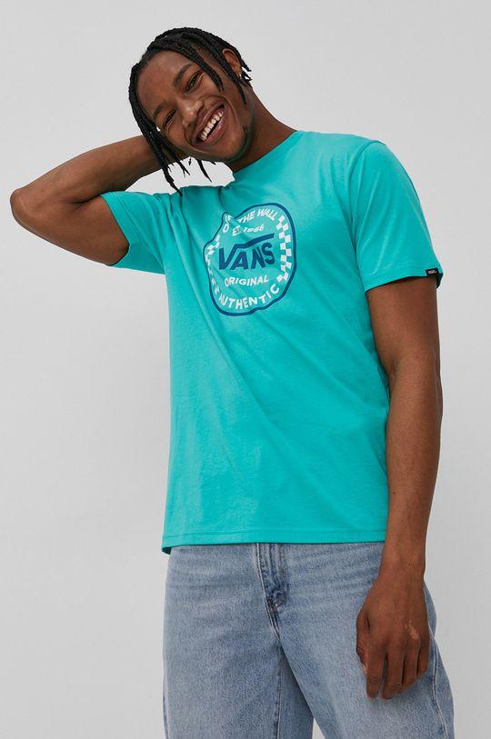 zielony Vans - T-shirt Męski