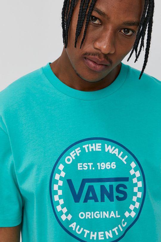 zielony Vans - T-shirt
