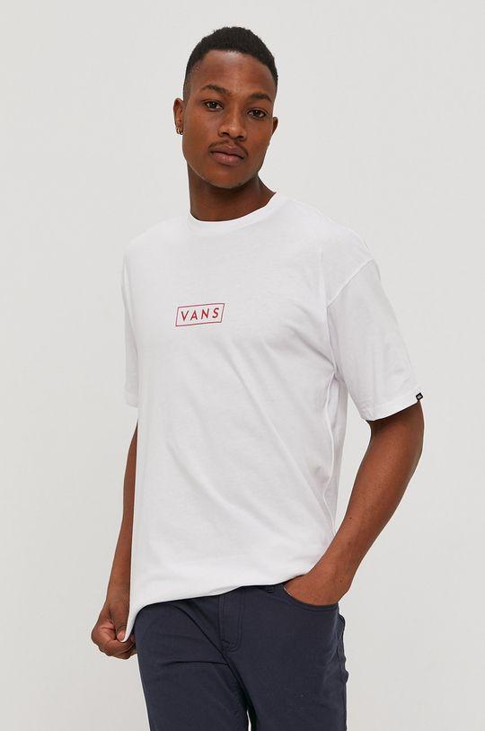 bílá Vans - Tričko Pánský