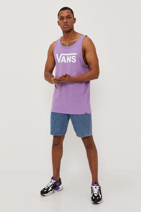 Vans - T-shirt fioletowy