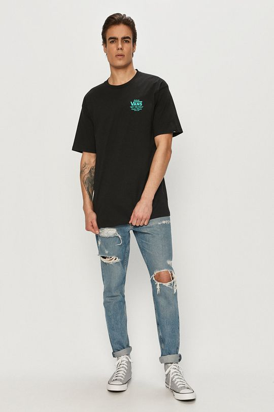 Vans - T-shirt czarny