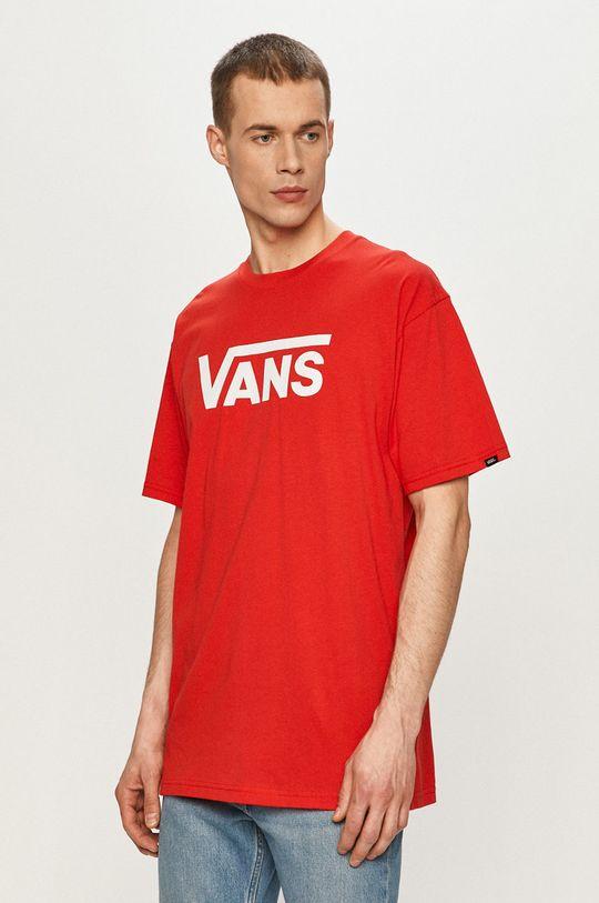 červená Vans - Tričko Pánský