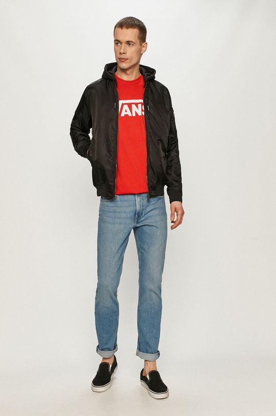 Vans - Tričko červená