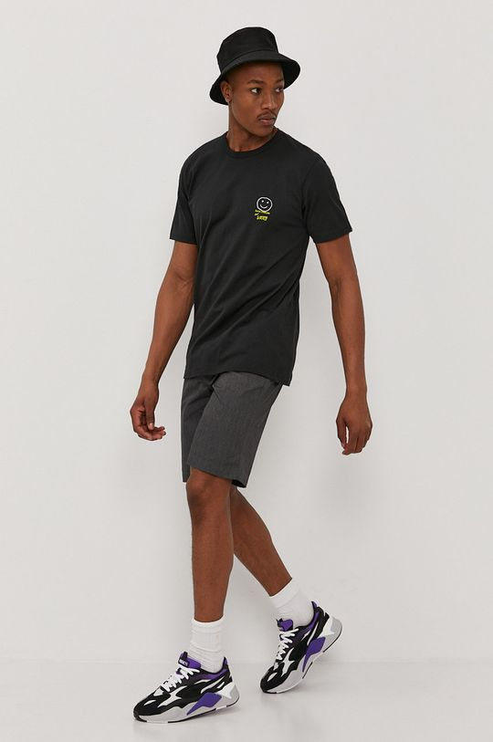 Vans - T-shirt x Chris Johanson czarny