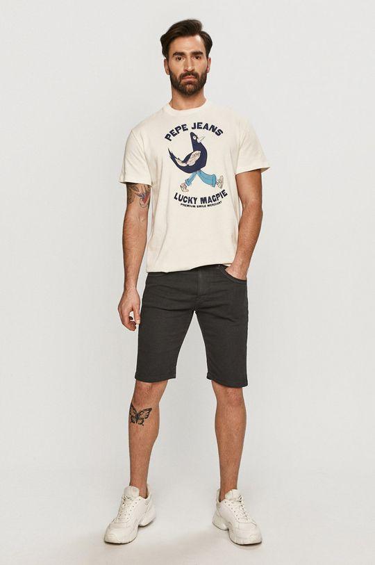 Pepe Jeans - T-shirt Bolton biały