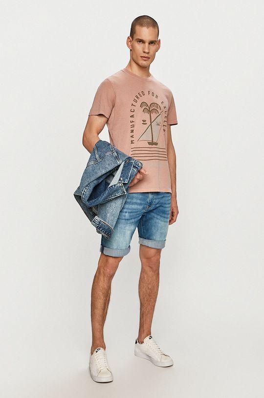 Pepe Jeans - Tričko Jonah růžová
