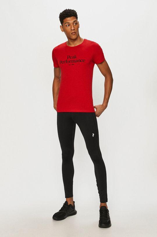 Peak Performance - Tričko červená