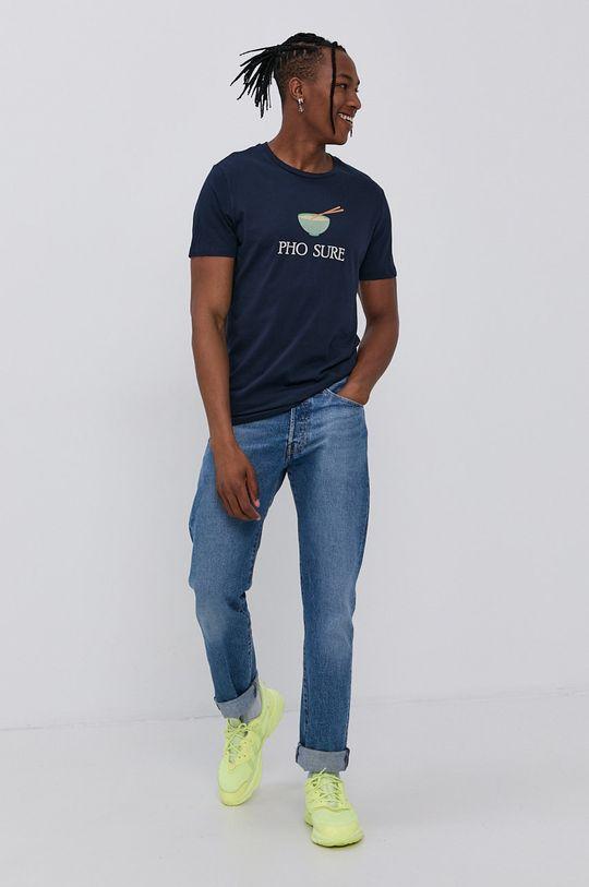 Produkt by Jack & Jones - T-shirt granatowy
