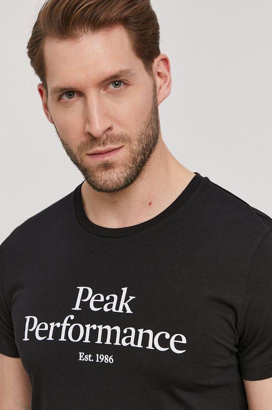 černá Peak Performance - Tričko