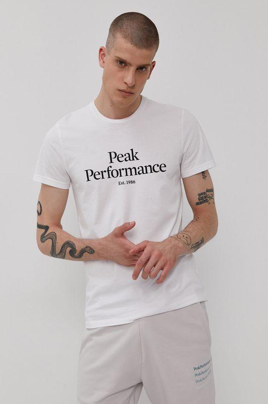 biela Peak Performance - Tričko Pánsky