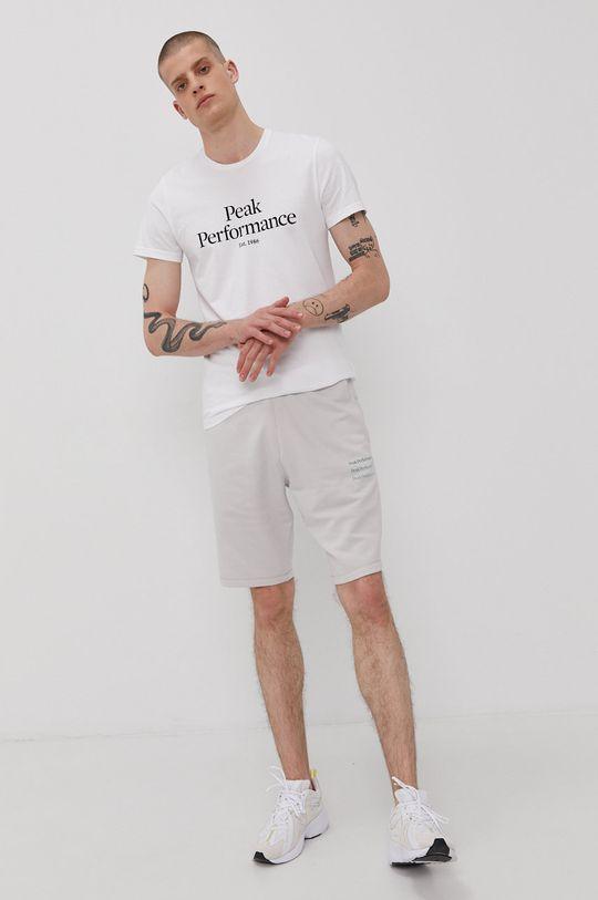 Peak Performance - Tričko biela