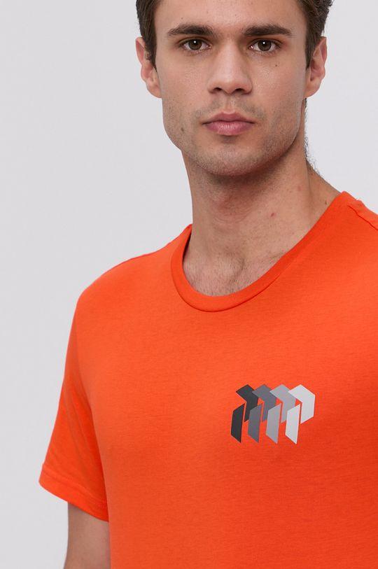 pomarańczowy Peak Performance - T-shirt bawełniany Męski