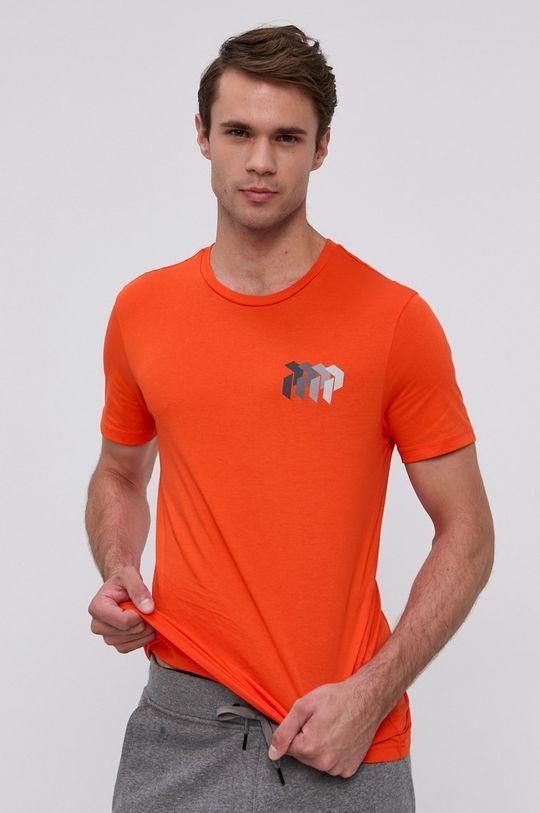 pomarańczowy Peak Performance - T-shirt bawełniany