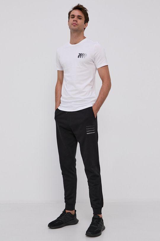 Peak Performance - Bavlnené tričko biela