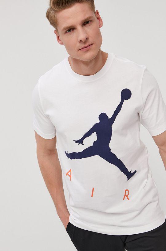 biały Jordan - T-shirt Męski