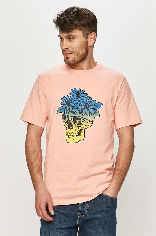 růžová Converse - Tričko Pánský