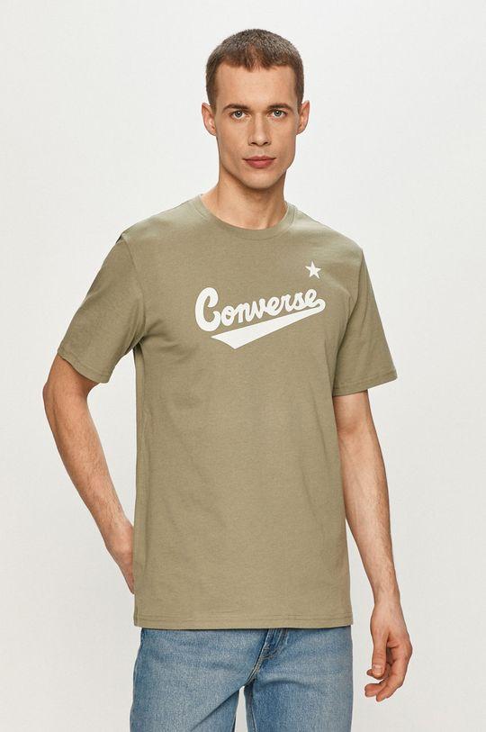 zelená Converse - Tričko Pánský