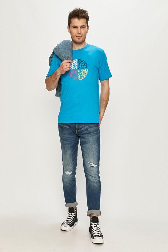 Converse - Tričko modrá