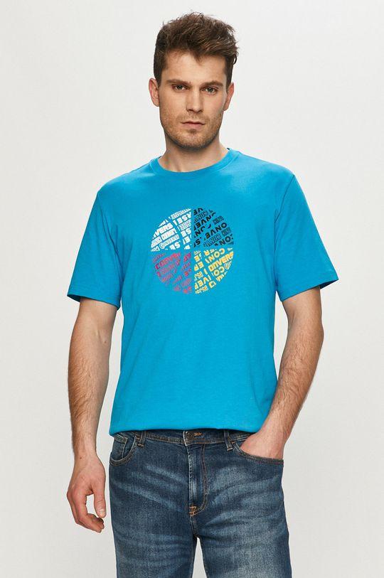 modrá Converse - Tričko